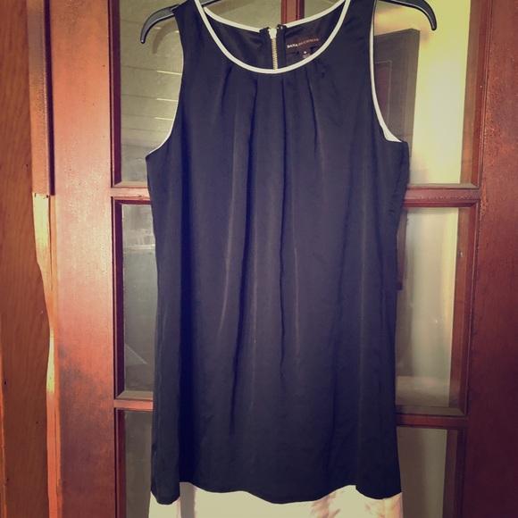 Dana Buchman Dresses & Skirts - Black and White Dana Buchman Midi Dress